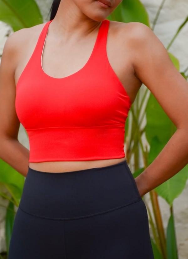 essential-crop-top-longline-sports-bra-red